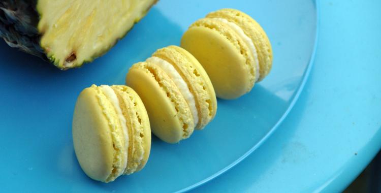 Makron-med-ananas